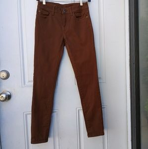 Dl 1961 Margaux Rust Skinny Jeans Pants 28